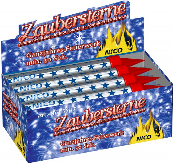 NICO Zaubersterne Eisfontänen