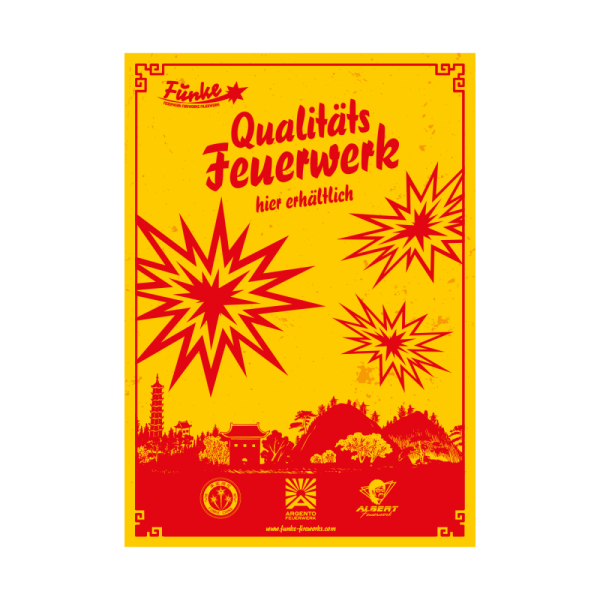 Feuerwerk Hannover - Funke Poster